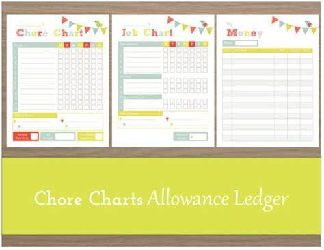 allowance chart template chore chart chore chart printable chore chart