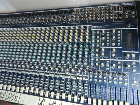 Mixer Behringer Mx3282 behringer eurodesk mx3282a image 470093 audiofanzine