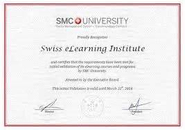 Mini Mba Certificate Programs by The Swiss Elearning The Swiss E Learning
