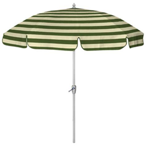 Patio Umbrella Green Stripe Shop 7 6 Quot Green Wide Striped Patio Umbrella At