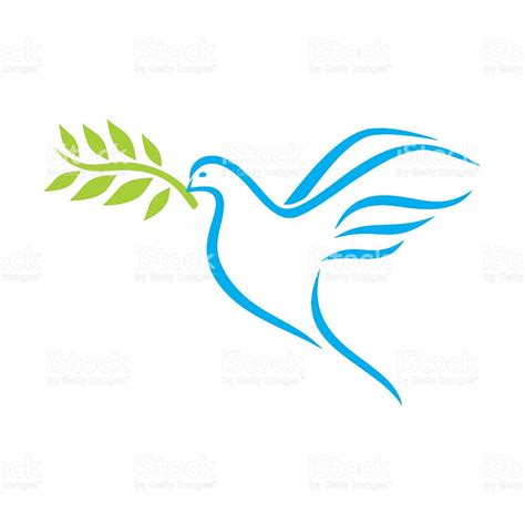 imagenes libres svg colombe de la paix stock vecteur libres de droits