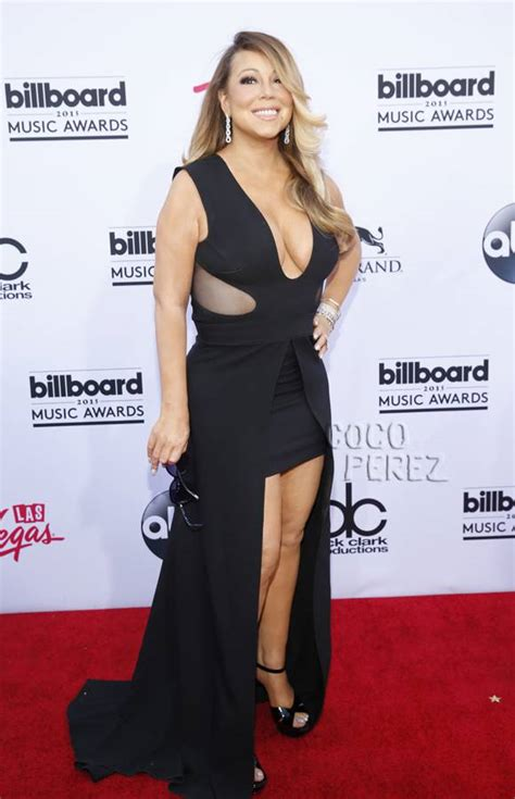 mariah carey s billboard music awards makeup pret a reporter mariah carey blesses us with major cleavage at the