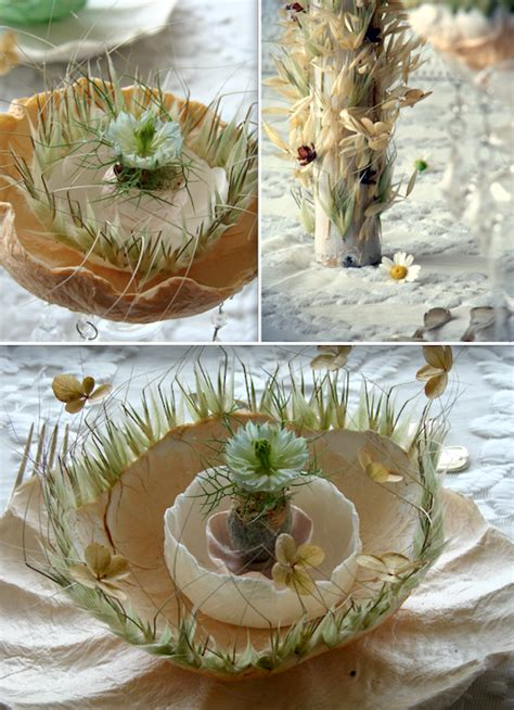 centrotavola fiori secchi eco wedding design giugno 2014