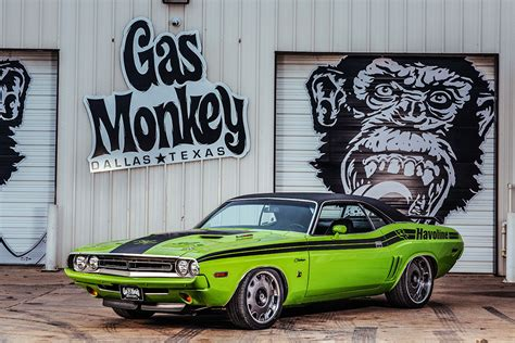 gas monkey cars the shakedown dodge challenger from sema 2016 gas monkey