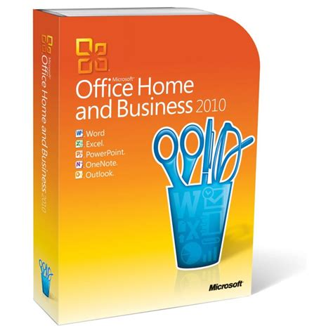 microsoft office home and business 2010 for 2 pc