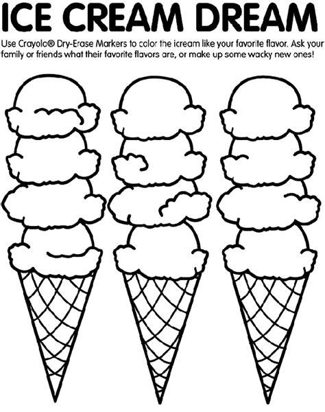 dltk ice cream coloring pages ice cream coloring page crayola com