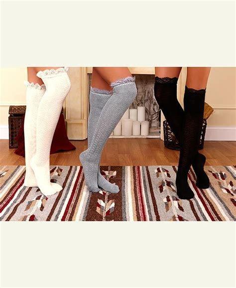 Lace Trim The Knee Boots best 25 knee socks ideas on knee high socks