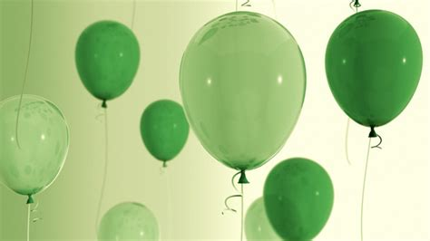 Green Balloons 36 by alexander83   VideoHive