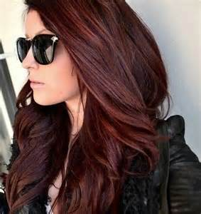 mahogany colored hair mahogany auburn hair color hairstylegalleries