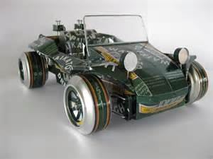 Cars Made By Handmade Model Cars Built With Recycled Cans Gadgetsin