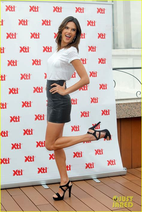 Alessandra Ambrosio Promotes Something Or Another by Alessandra Ambrosio Keeps Busy On A Trip To Madrid