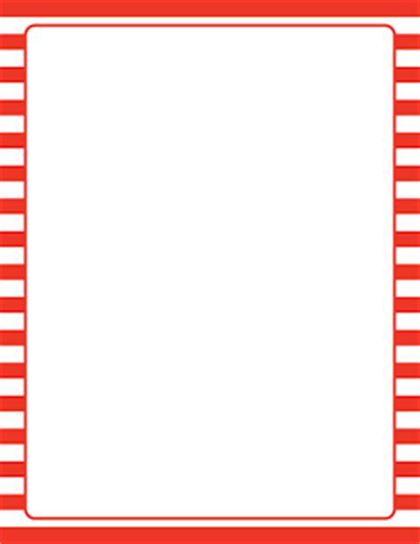 White Border Striped and white striped border sobres y folios decorados