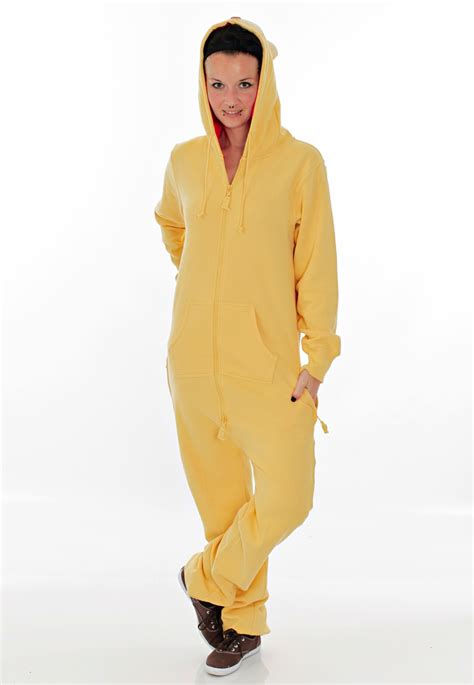 Sleeper Suit by Drop Dead Onesie Yellow Sleep Suit Impericon