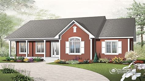 drummond homes single story modern house designs single story cottage