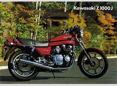 Kawasaki Z 1000J Prospekt (1981) - für Pisten-Profis Kawasaki 250 Ccm Enduro