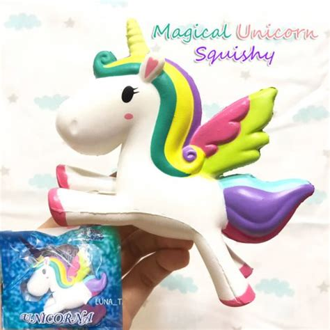 Squishy Licensed Box Shop Blueberry Original magical unicorn squishy toyboxshop