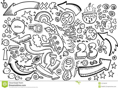 what do doodle drawings doodle sketch drawing vector stock image image 12746181