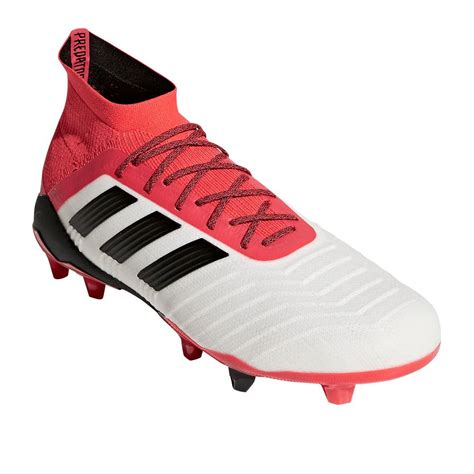predator football shoes adidas predator 18 1 fg football shoes white at