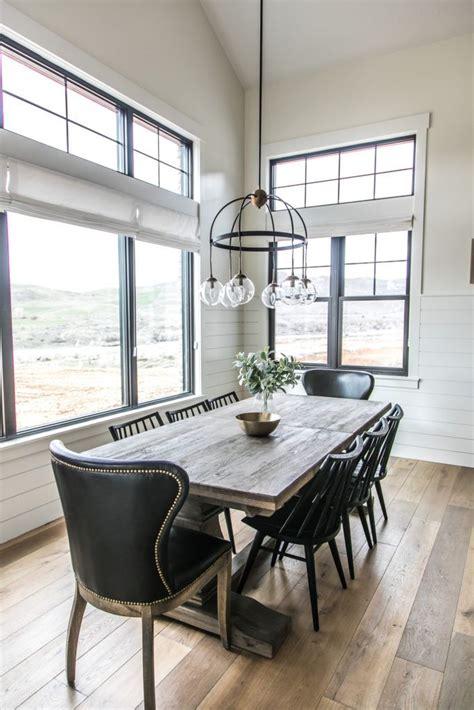 modern farmhouse kitchen table best 25 modern farmhouse interiors ideas on
