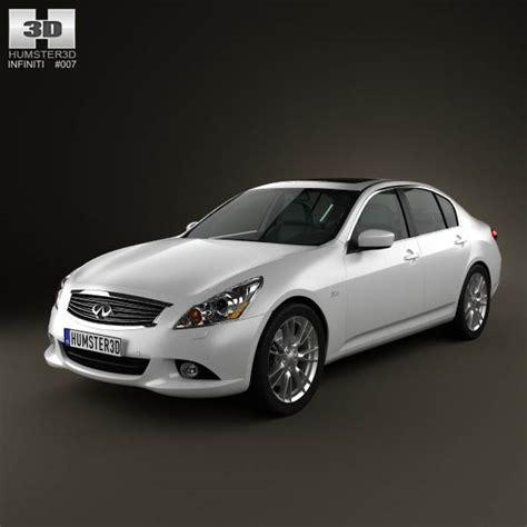 infiniti g37 sedan 2011 3d model humster3d