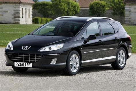 peugeot second prices peugeot 407 sw estate from 2004 used prices parkers