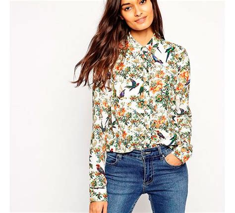 camicia a fiori camicia a fiori donna moderna