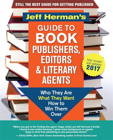 picture book agents jeff herman s guide to book publishers editors and
