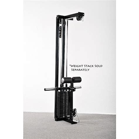 Powertec Power Rack With Lat Tower by Powertec Lat Tower Option Wb Lto16 Lat Option From