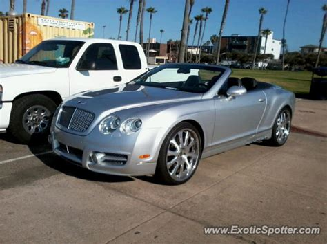 bentley san diego bentley continental spotted in san diego california on 07