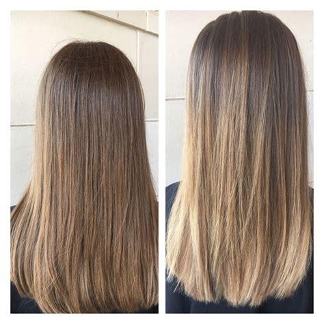 medium brown hair balayage pictures to pin on pinterest balayage light brown and blonde medium length hair