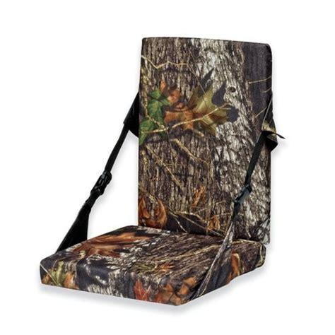 best tree stand seat cushion mossy oak heat seat foam cushion with back rest academy