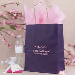 gift bags for wedding guests 8 x 5 x 10 personalized hotel guest gift bags