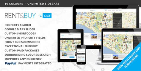 themeforest locations rent buy themeforest responsive real estate wp theme