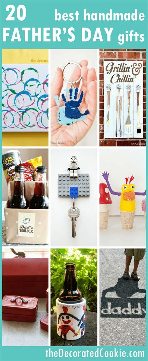 Handmade Fathers Day Gift - a roundup of 20 of the best handmade s day gifts