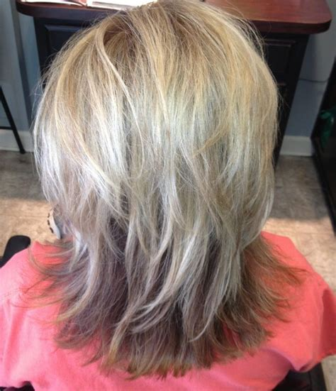 pictures of highlights in gray hair 8 best blending grey lowlights images on pinterest hair