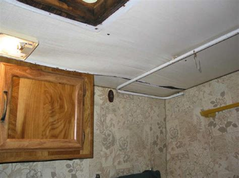 rv trailer water damage repair