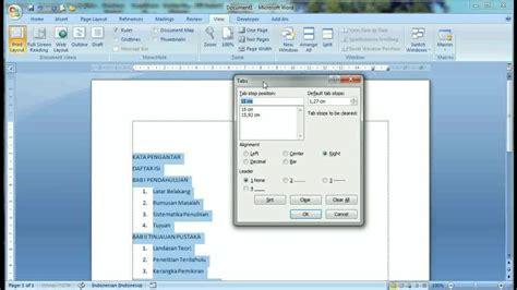 membuat daftar isi pada indesign cara membuat daftar isi yang rapi tutorial microsoft