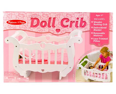 And Doug Crib by Catchoftheday Au Doug Wooden Doll Crib