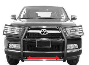 Toyota 4runner Brush Guard Does Skid Plate Of 2016 Toyota 4runner Need To Be Removed
