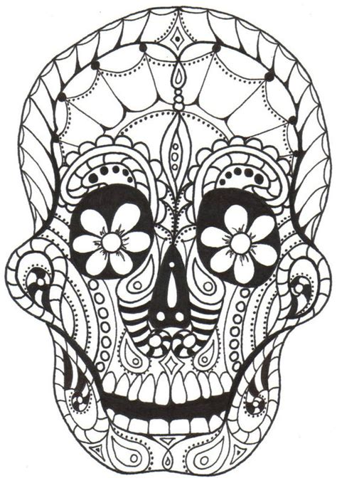 dia de los muertos coloring pages for adults kay larch studios dia de los muertos coloring books