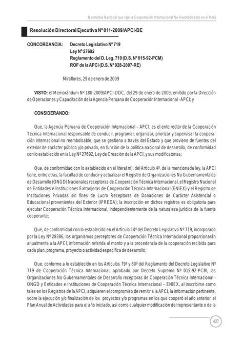 directiva n004 2004 sunarp normas legales de la cooperaci 243 n internacional no