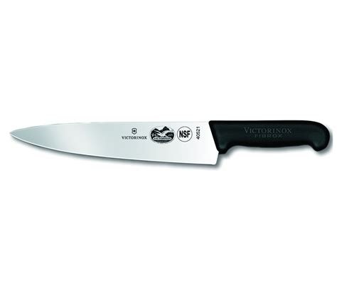 knives for kitchen use victorinox 47521 10 inch chef s knife black fibrox handle