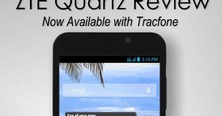 zte quartz 5 5 ips android tracfone review tracfonereviewer tracfone zte quartz review android