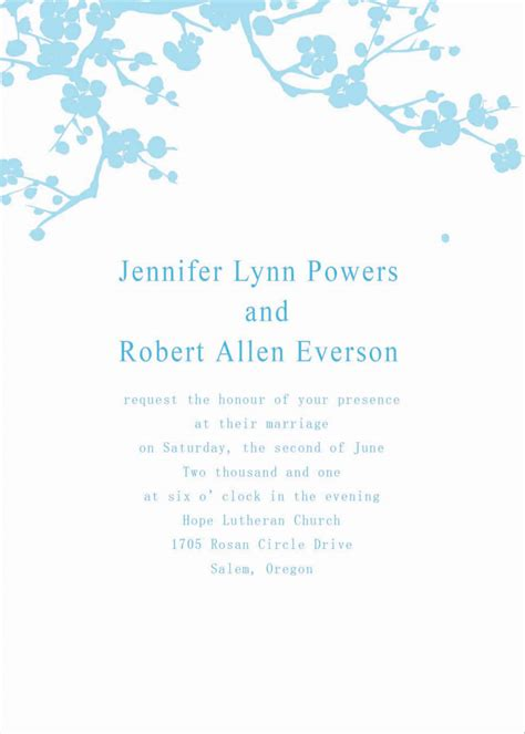 invitation template free wedding invitation templates cyberuse