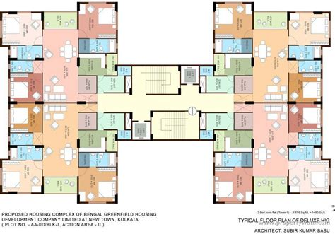 Basement Bathroom Floor Plans bengal greenfield ambition new town rajarhat kolkata