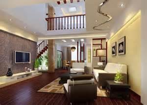 www modern home interior design 2011年最新楼中楼客厅装修效果图 12