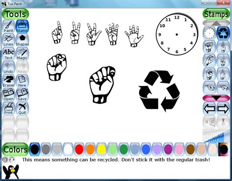 tux paint to play tux paint for