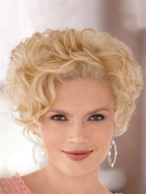 short curly blonde hairstyles 16 cute short hairstyles for curly hair to make fellow