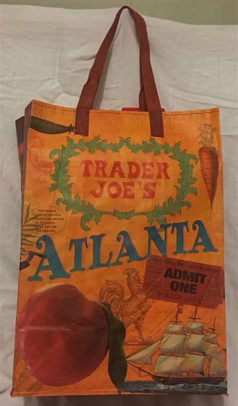 Trader Joe S Kitchen Garbage Bags Trader Joe S Reusable Grocery Tote Bag From Atlanta