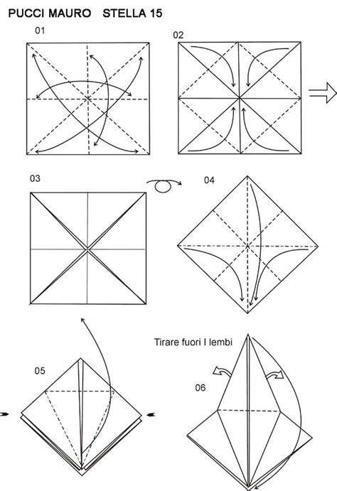 Origami With Copy Paper - 17 best images about diagramas estrellas origami on